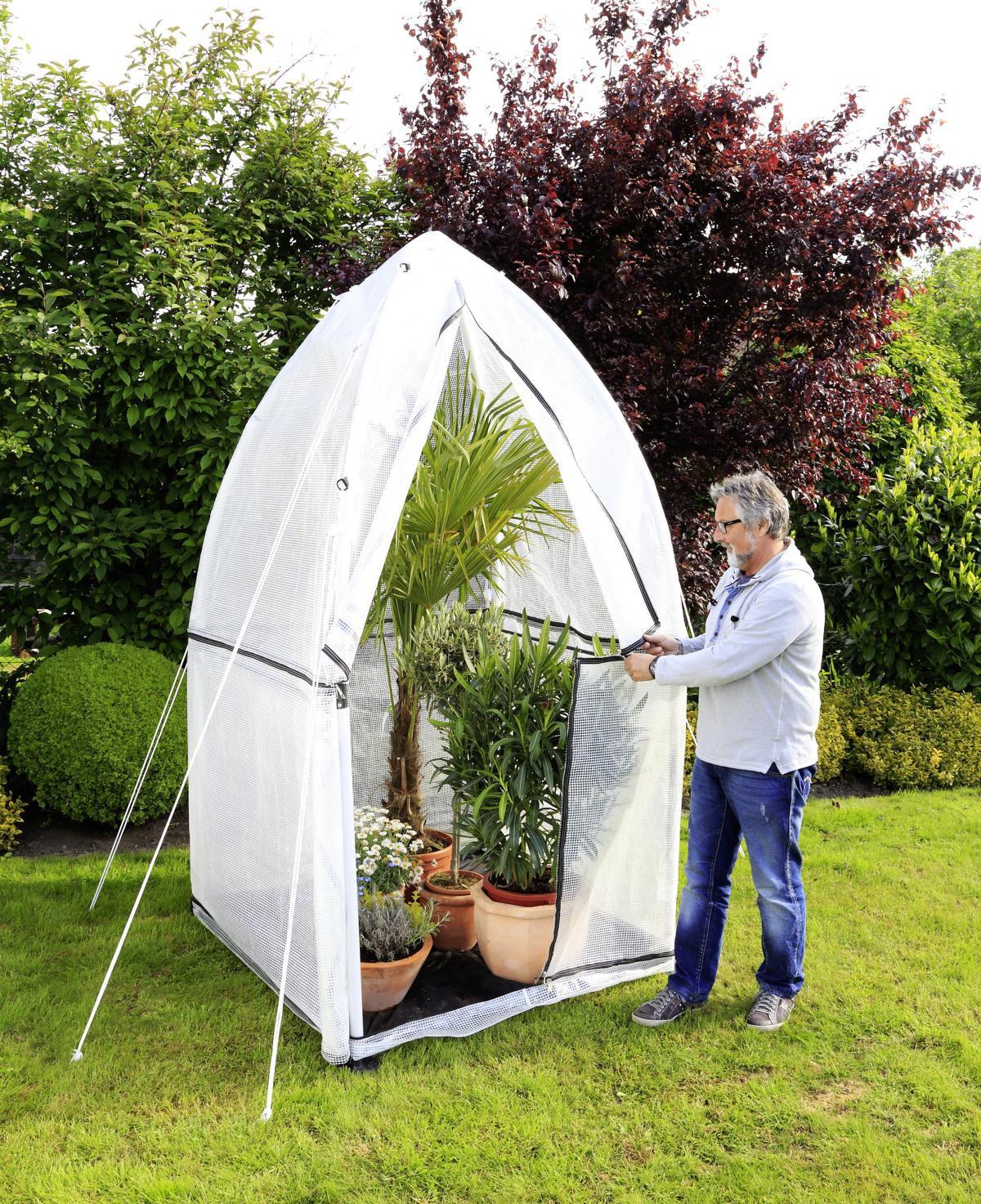 gew chshaus tropical island gr e m 1m h henerweiterung. Black Bedroom Furniture Sets. Home Design Ideas