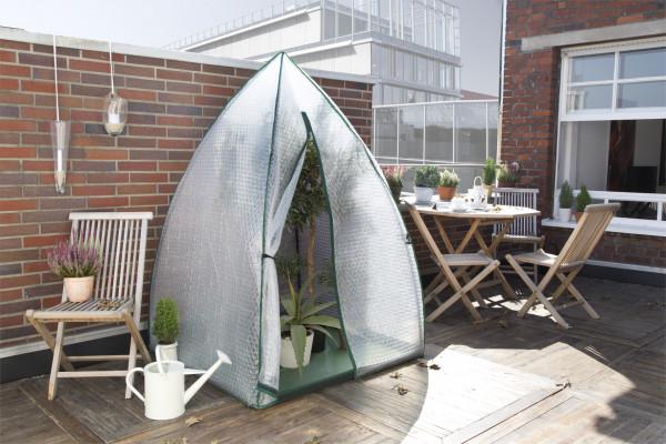 Überwinterungszelt Igloo Bio Green Foliengewächshaus-